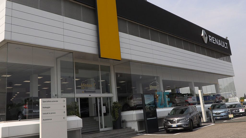 Concessionaria ufficiale Renault e Dacia