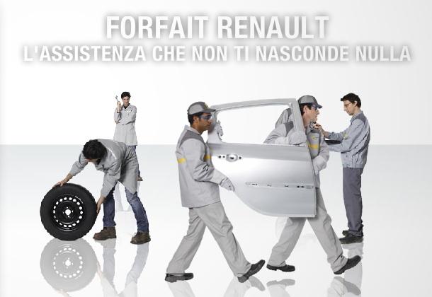Forfait Renault: l'assistenza che non ti nasconde nulla