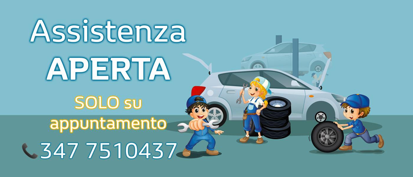 Assistenza aperta presso le nostre concessionarie di Monza, Vimercate e Merate