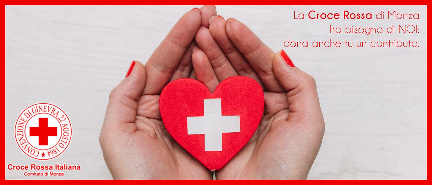 Aiuto alla Croce Rossa di Monza | raccolta fondi covid-19 | Concessionaria Messa T