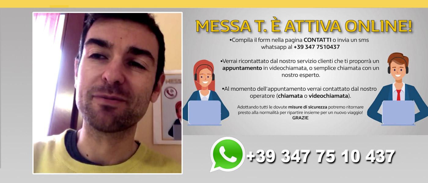 La concessionaria Messa T. è attiva online | videochiamata | assistenza