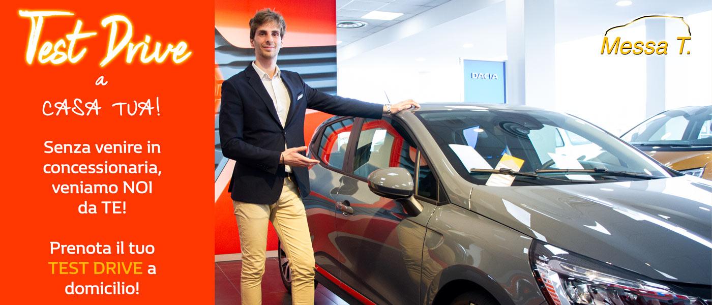Test drive a domicilio | Concessionaria Messa T | Monza | Vimercate | Merate