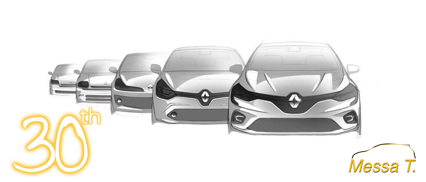 Renault Clio compie 30 anni