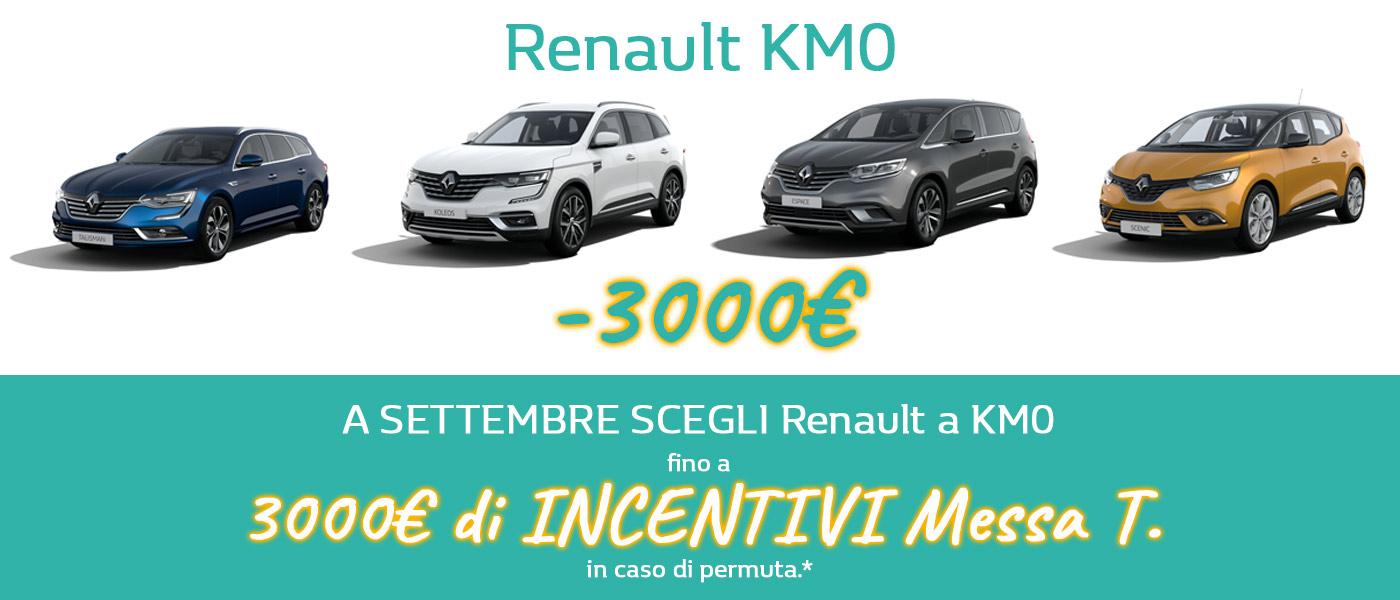 Offerta auto Renault km0