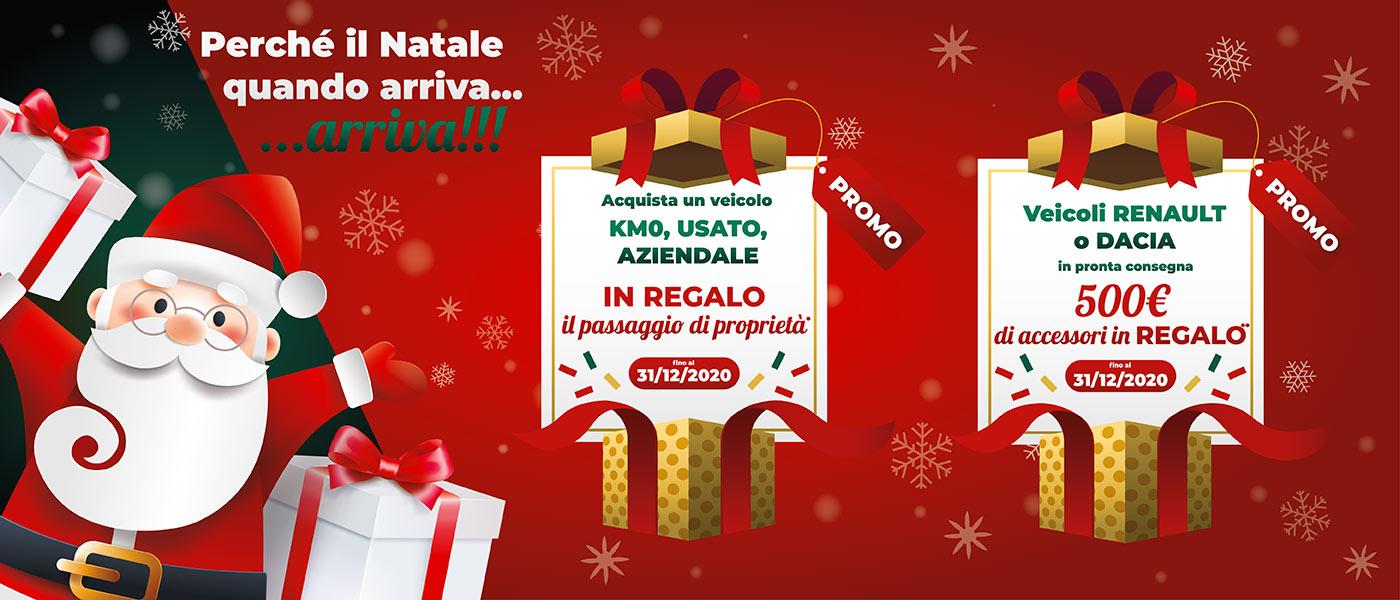 Offerte Natale Renault e Dacia