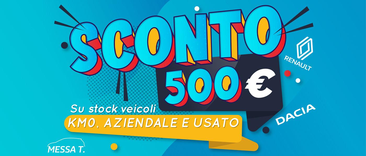 Sconto 500€ su veicoli km0, aziendale e usato | Offerte auto | Monza | Vimercate | Merate | Concessionaria Messa T.