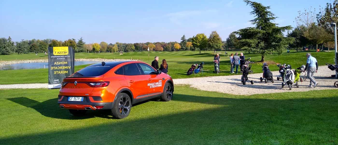 Renault Arkana Golf Club Camuzzago | Messa T